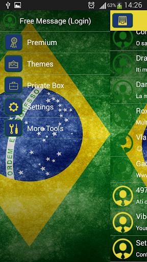 玩免費娛樂APP|下載GO短信加强版巴西 app不用錢|硬是要APP