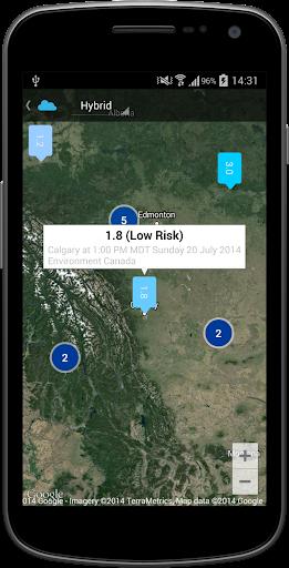 Canada Air Quality Index