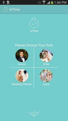 InTime - Wedding Planning App
