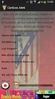 Screenshot of Cánticos Atleti