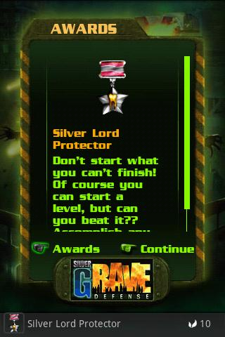GRave Defense Silver FREE - screenshot