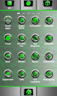 G-METAL GO Launcher EX- screenshot thumbnail