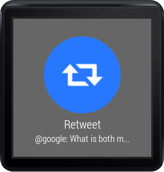 TweetWear - screenshot