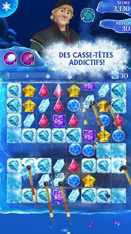 android La Reine des Neiges Free Fall Screenshot 22