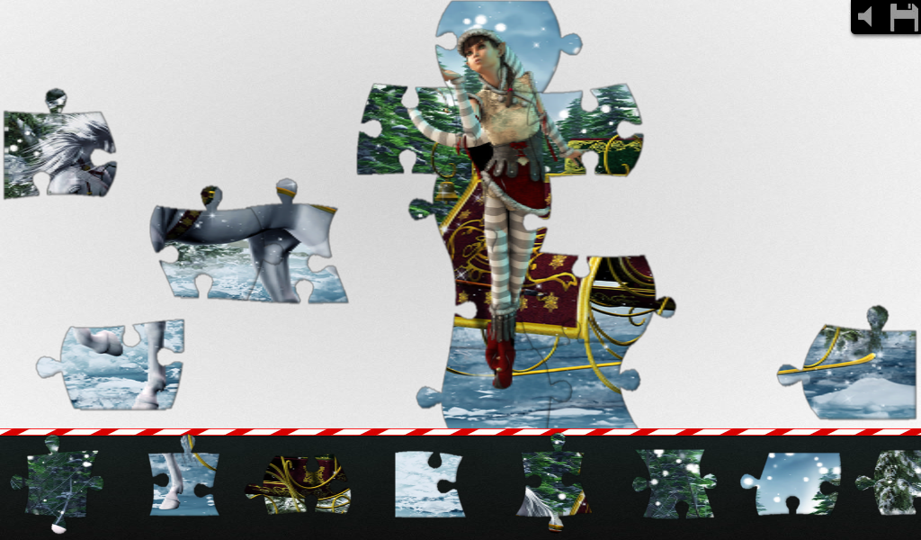 Live Jigsaws - Christmas Magic - screenshot