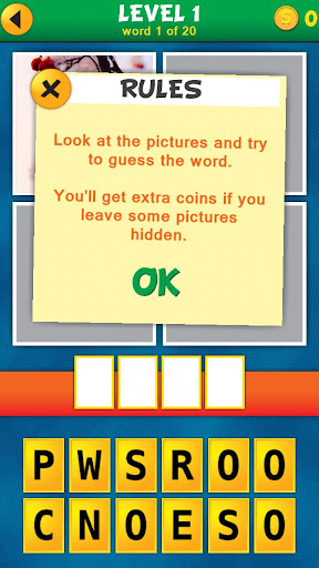 4 Pics 1 Word Puzzle Plus 1.0.9 screenshots 2