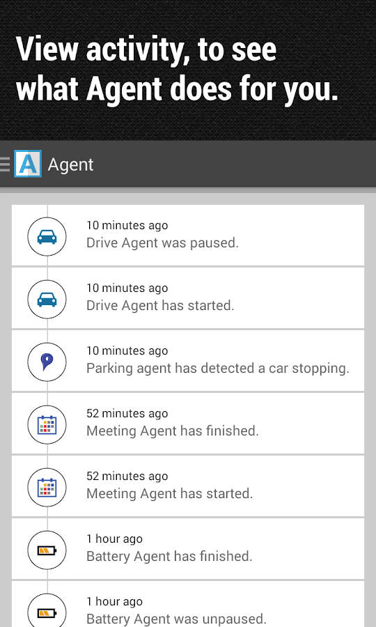 Agent - do not disturb & more - screenshot