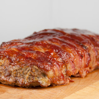Bacon Wrapped BBQ Meatloaf.