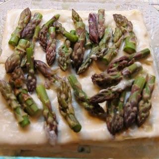 Roasted Asparagus Lasagna