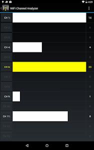 WiFi Channel Analyzer (no ads) v2.01