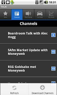 Moneyweb TALK - screenshot thumbnail