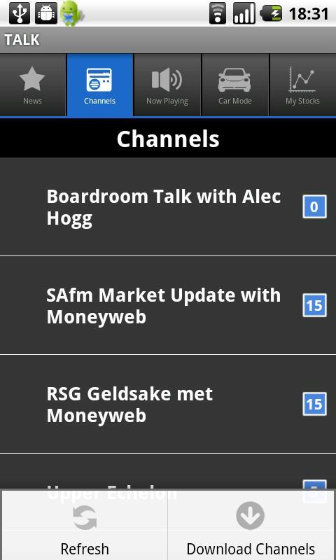 Moneyweb TALK - screenshot
