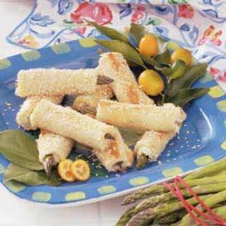 Asparagus Sesame Rolls