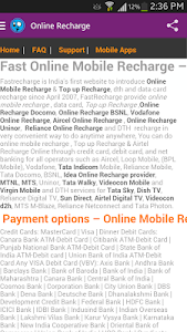 Mobile And DTH Recharge India screenshot 6