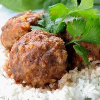 Zesty Porcupine Meatballs