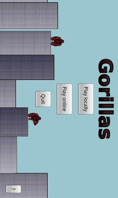 Gorillas - screenshot