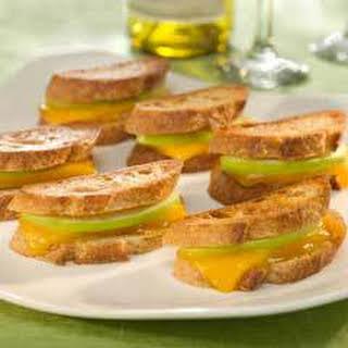 Cheddar & Apple Panini Bites.