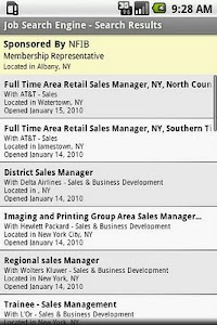 Job Search Engine screenshot 1