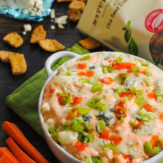 Lightened-Up Buffalo Chicken Dip.