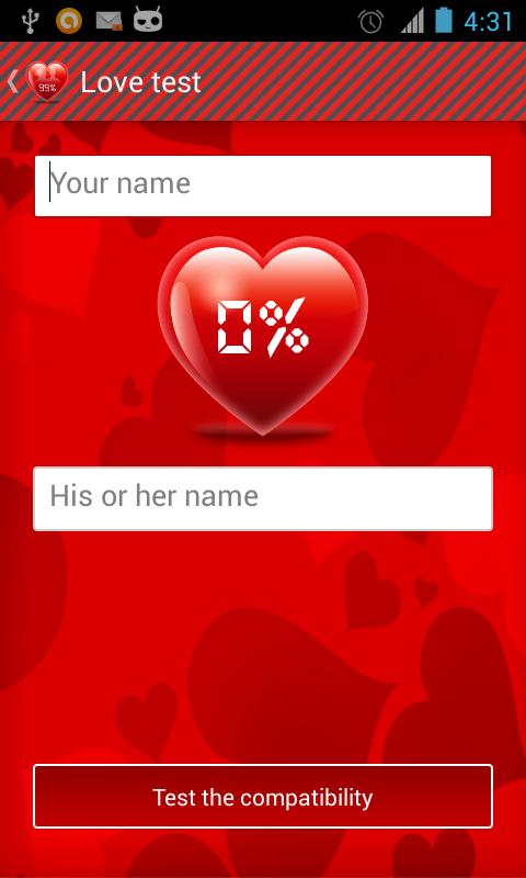 Love Calculator Date Of Birth