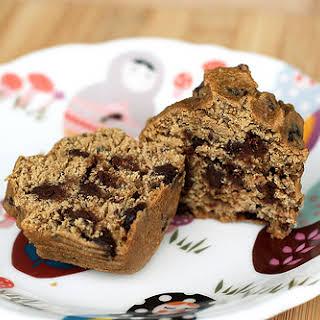 Gluten-Free Chocolate Chip Flax-Seed Muffins.