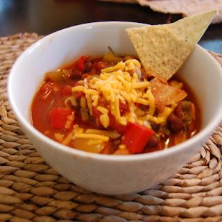 Crockpot Chickpea Chili (Vegetarian) Recipe