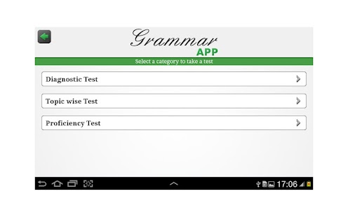 Grammar App by TapToLearn - screenshot thumbnail