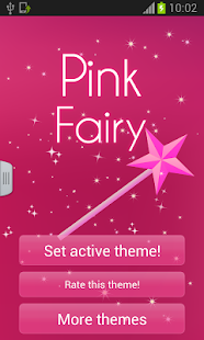 GO Keyboard Fairy Pink - screenshot thumbnail