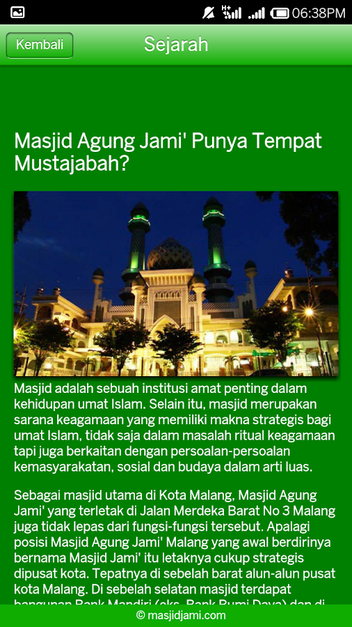 Masjid Jami- screenshot