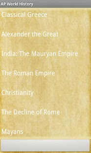 AP World History STUDY GUIDE - screenshot thumbnail