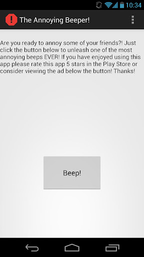 The Annoying Beeps Deprecated