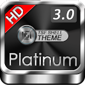 TSF Shell HD Theme Platinum