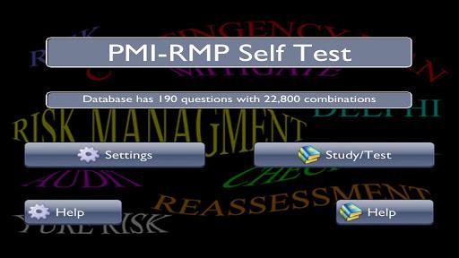 PMI-RMP Self Test
