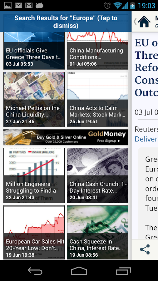 MISH: Global Economic Analysis- screenshot