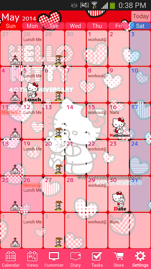 Organization Calendar Google : Jorte calendar organizer android apps on google play