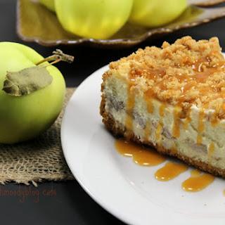 Apple Pie Stuffed Cheesecake 2.