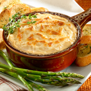 Hot French Onion Dip.