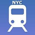 New-York city subway map (NYC) icon