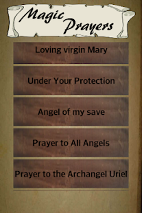Magic Prayers - náhled
