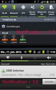 SSID Selector with WiFi Widget - screenshot thumbnail