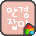 Four eyes Dodol Launcher Font icon