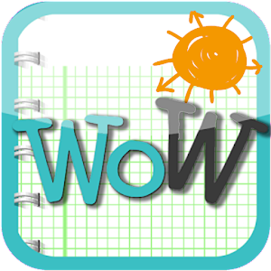WoW英文單字王-初級 LOGO-APP點子