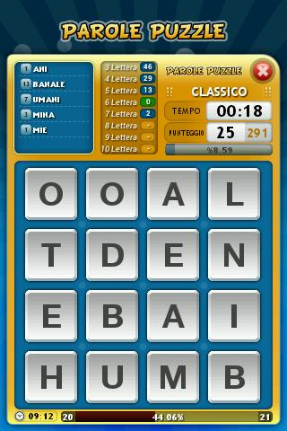 Parole Puzzle- screenshot
