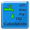 Calculator for oil enhanced icon