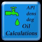 Calculator for oil enhanced icon