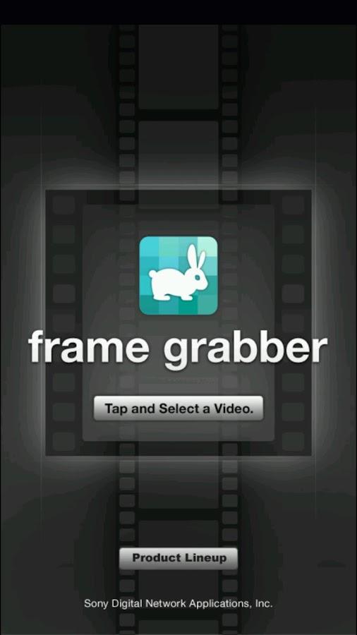 frame grabber- screenshot