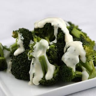 Broccoli w/ 2-Cheese Sauce