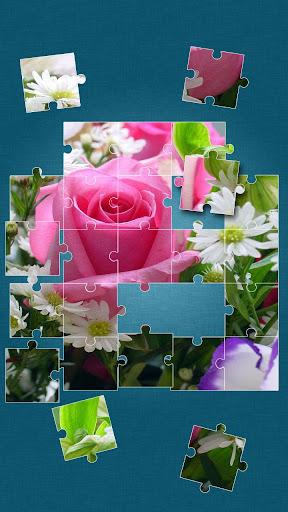 バラ ジグソーパズル ゲーム