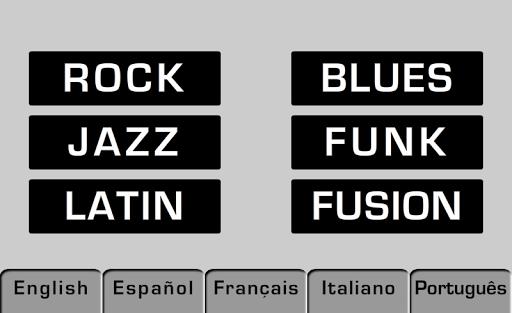 Play Bass: Rock Blues Jazz