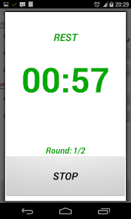 Top Workout Timer - screenshot thumbnail